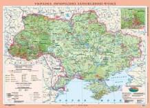 Україна. Природно-заповідний фонд, м-б 1:1 000 000 (на планках)
