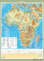 Африка. Фізична карта