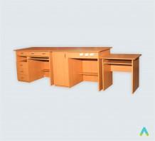фото - К-т столів демонстраційних для кабінетів фізики, та хімії (3 елементи)