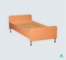 фото - Ліжко односпальне, спинки із заокругленими кутами, 1900*700*(610-510) мм