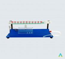 Прилад для демонстрації механічних коливань (на повітряній подушці)