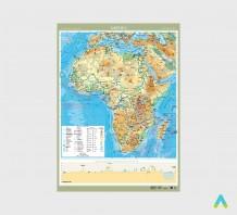 фото - Африка. Фізична карта