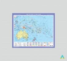 фото - Австралія та Океанія. Політична карта