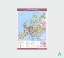 фото - Країни Європи. Економічна карта