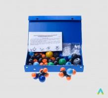 Комплект моделей атомів для складання молекул (дем.)