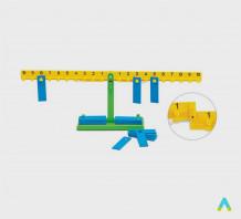 Математичні ваги довжина 65 см