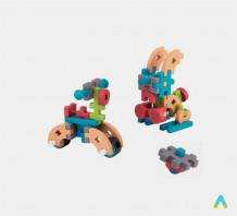 фото - Ігровий набір дерев'яних блоків