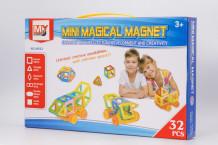 """фото - Комплект """"Магнітний конструктор"""" 32 деталі"""