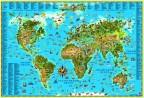 фото - Карта світу для дітей