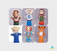 фото - Ляльки-рукавички для лялькового театру