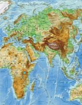 фото - Географічна карта світу