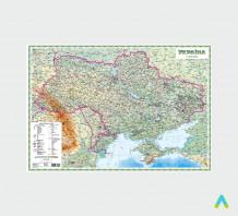 фото - Фізична карта України