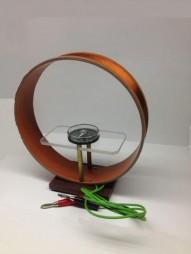 Прилад для демонстрації дії електромагнітного поля Землі