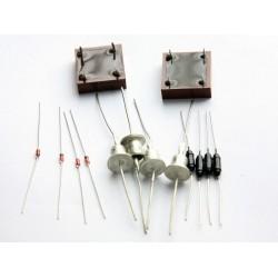 Набір напівпровідників для практикуму. Транзистори і тиристори