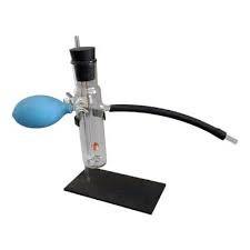 Прилад для окиснення спирту над мідним каталізатором