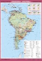 Південна Америка. Економічна карта