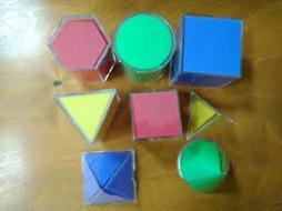Демонстраційний набір моделей геометричних тіл (з розгорткою)