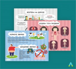 Комплет тематичних плакатів