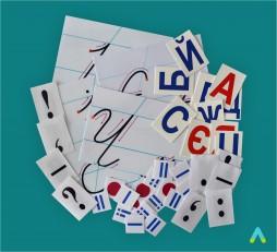 фото - Комплект для навчання грамоти/письма (на магнітах)