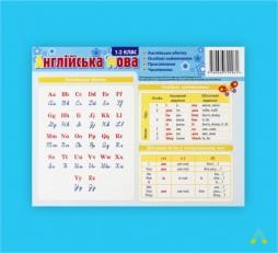 фото - Комплект таблиць до основних розділів граматичного матеріалу (роздавальний, англійська мова)