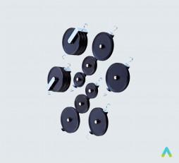 фото - Комплект блоків демонстраційний (мет.)