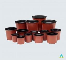 фото - Горщики для вирощування рослин (набір, 90 шт.)