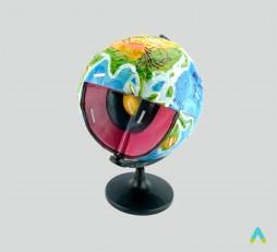 фото - Модель-глобус «Будова Землі»