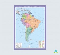 фото - Південна Америка. Політична карта