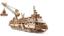 """фото - Механічна модель """"Науково-дослідне судно"""""""