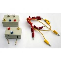 Прилад для демонстрування залежності опору металів від температури