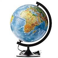 Глобус фізико-політичний з підсвіткою