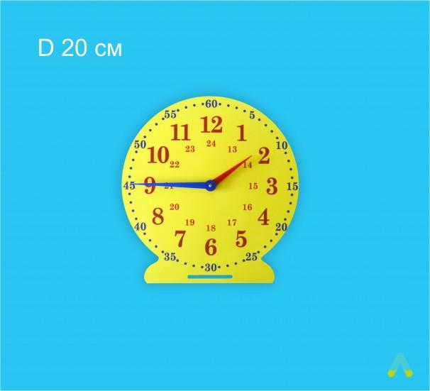 Лабораторна модель механічного годинника. D 20 см - фото