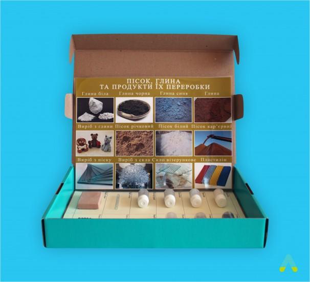 """Колекція """"Пісок, глина та продукти їх переробки""""  - фото"""