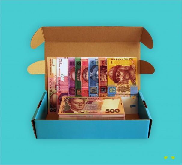 Набір грошових знаків - фото
