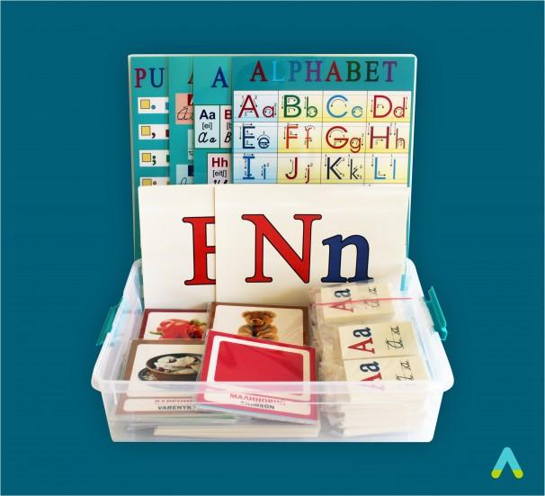 Набір наочно-дидактичних матеріалів з англійської мови - фото