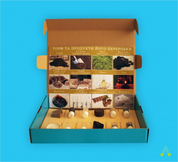 """Колекція """"Торф і продукти його переробки""""  - фото"""