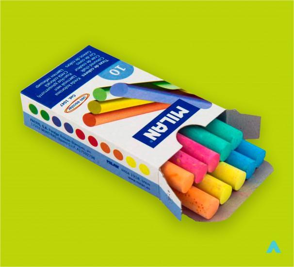Крейда кольорова - фото