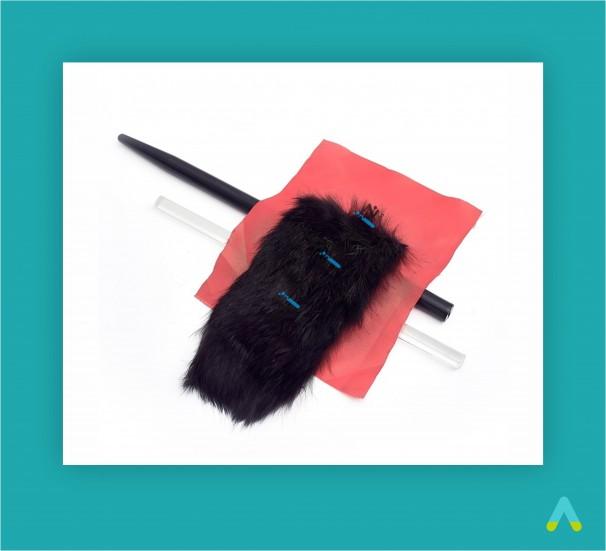 Комплект паличок для трибоелектризації - фото