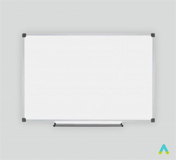 Дошка шкільна, одинарна, магнітна біла, під маркер 2000х1000 мм.