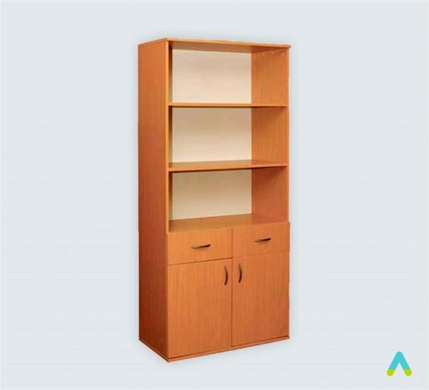 Шафа книжкова з 2 шухлядами 2-дверна (глибина 380 мм) - фото