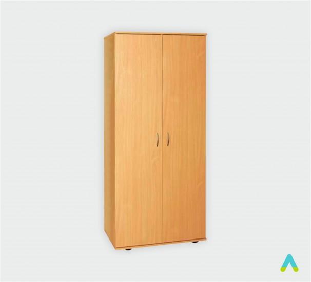 Шафа для одягу з овальною штангою (глибина 496 мм) - фото