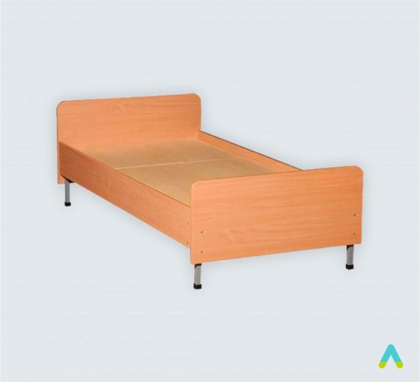 Ліжко одно-спальне, спинки із заокругленими кутами, 1900х700х(610-510) мм