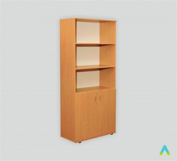 Шафа книжкова напівзакрита 2-дверна (глибина 380 мм) - фото