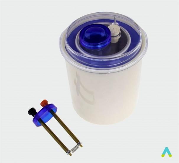 Калориметр зі спіраллю-резистором - фото