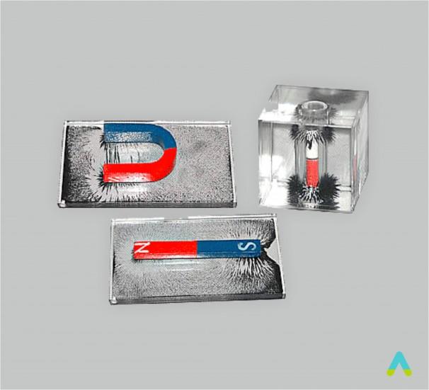 Прилад для демонстрації спектру магнітного поля