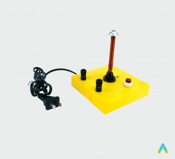 Прилад для демонстрування залежності опору металів від температури - фото