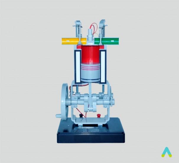 Модель двигуна внутрішнього згоряння - фото