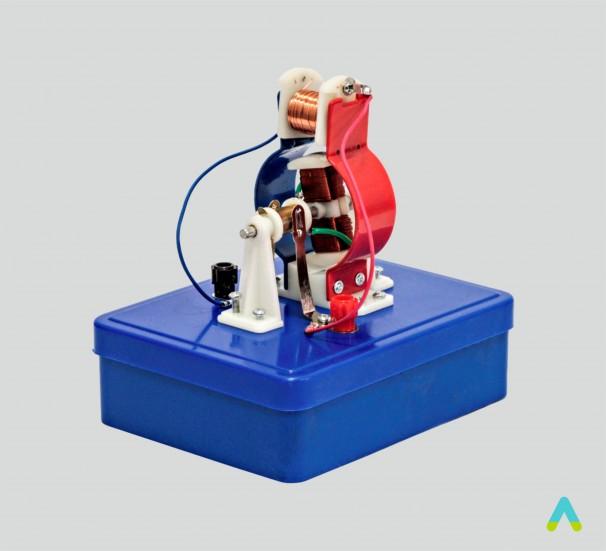 Модель електродвигуна розбірна лабораторна - фото