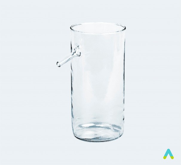 Склянка відливна  - фото