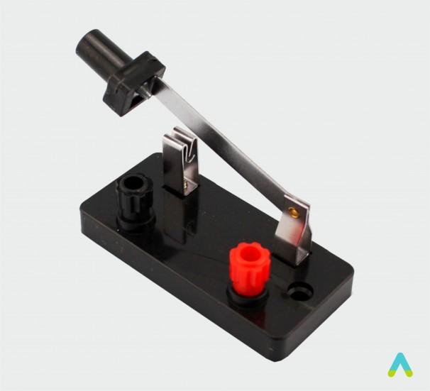 Перемикач однополюсний лабораторний - фото
